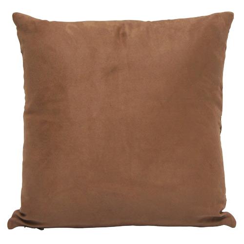 Banyan Home Camel Goat Leather Cushions