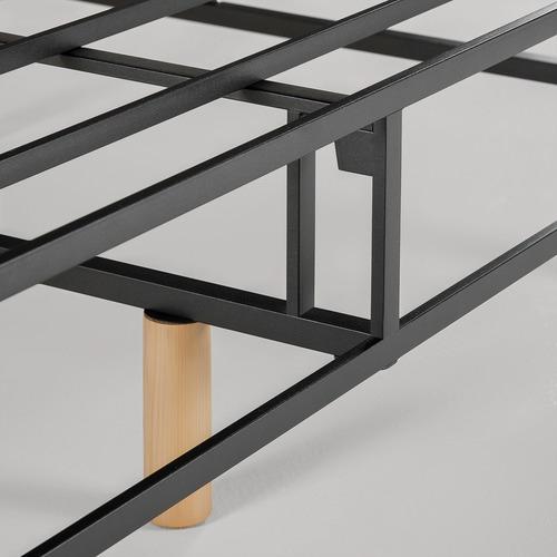40cm Grey Quick Snap Bed Base