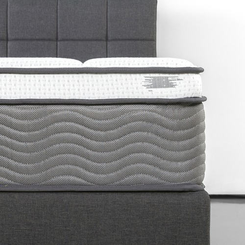 Studio Home 33cm Box Top Pocket Coil with Memory Foam Mattress