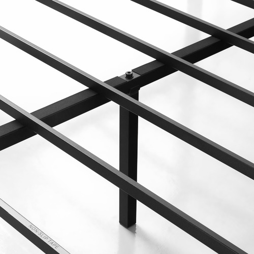 Studio Home Black Cytus Canopy Bed Frame