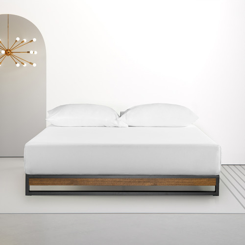 Studio Home Low Rise Ironline Platform Bed