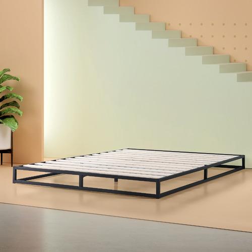 Studio Home Black Low Rise Pilato Bed Frame
