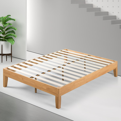 Studio Home Natural Belvedere Rubberwood Bed Base