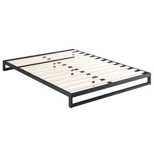 Studio Home Black Brienne Steel Bed Frame