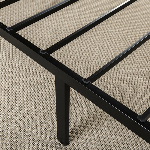 Black Beier Metal Platform Bed