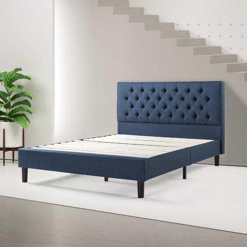 Studio Home Navy Adanna Tufted Bed