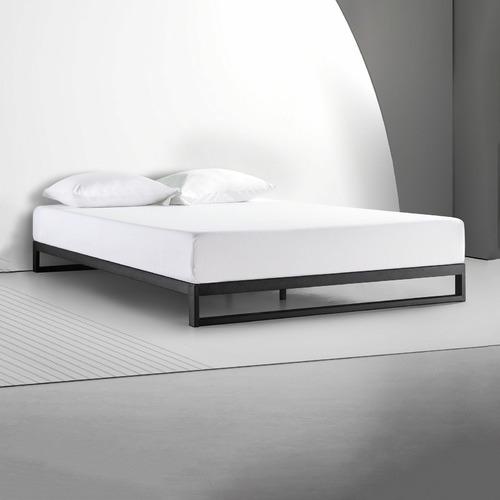 Studio Home Black Brienne Steel Bed Frame