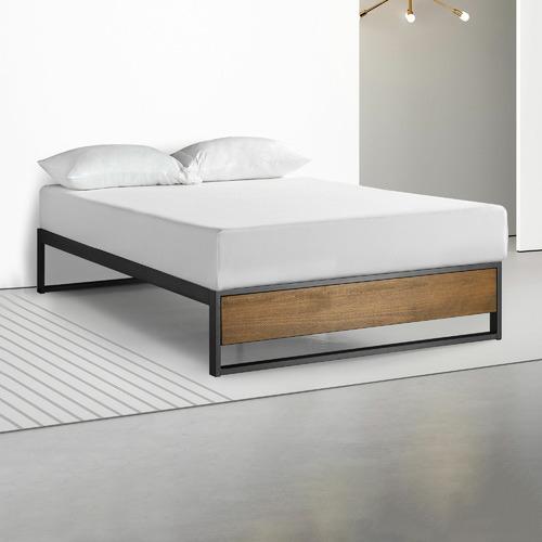 Studio Home Timber Ironline Platform Bed