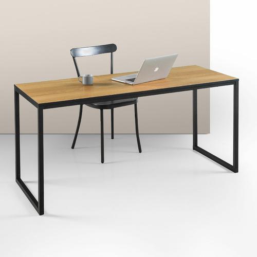 Harper Wood & Steel Desk