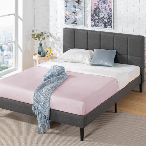 Studio Home Harlow Upholstered Platform, Harlow Panel Bed Queen