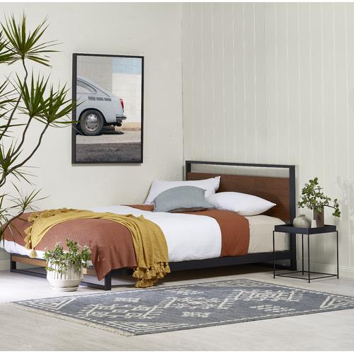 Studio Home Houston Timber & Metal Platform Bed