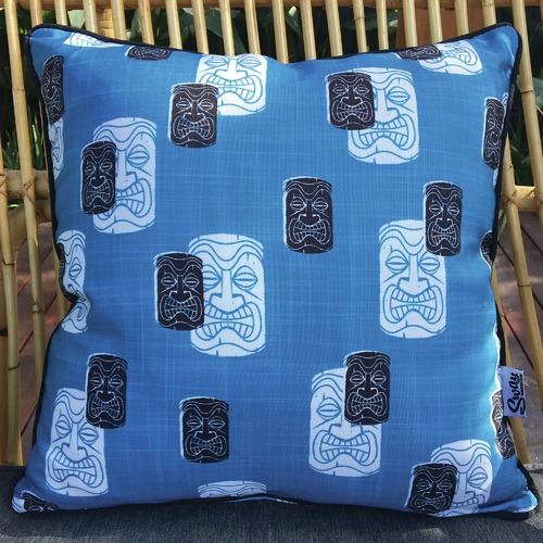 Tiki Time Outdoor Cushion