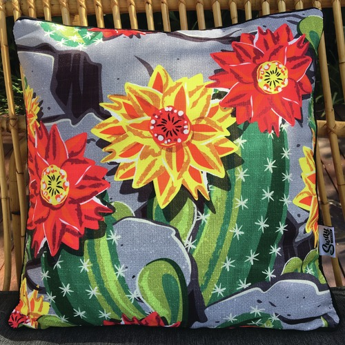 Sway Living Cactus Flower Outdoor Cushion