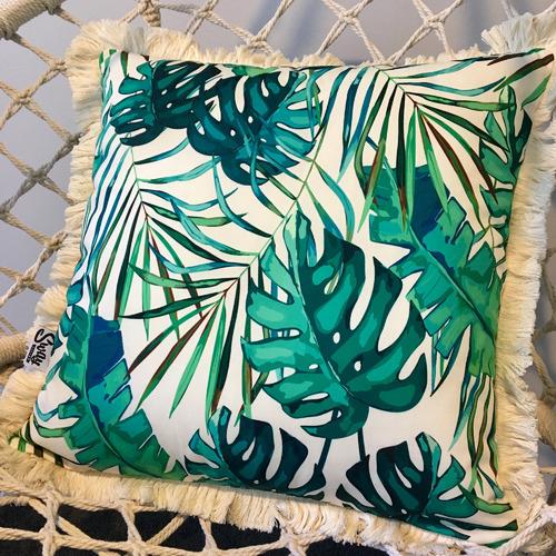 Sway Living Green Monsoon Cushion