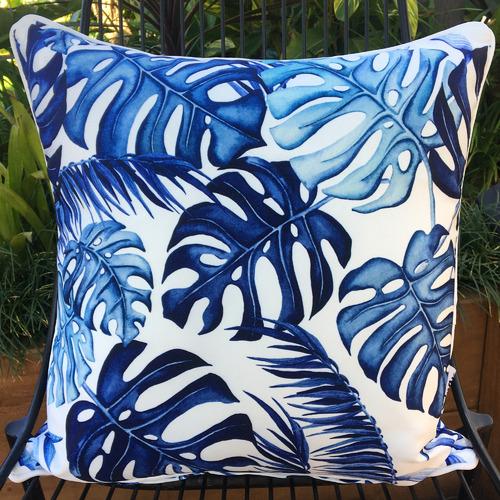 Blue Hawaii Outdoor Cushion