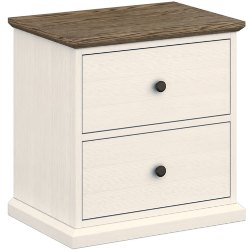 MYROOM Monte Carlo Bedside Table with Drawers