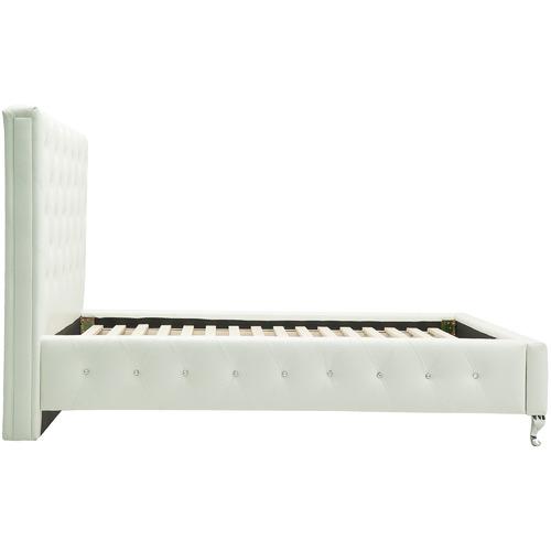MYROOM White New York King Single Bed Frame
