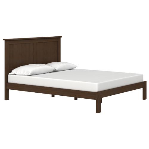 MYROOM Chocolate Walnut Sommerton Wooden Bed Frame