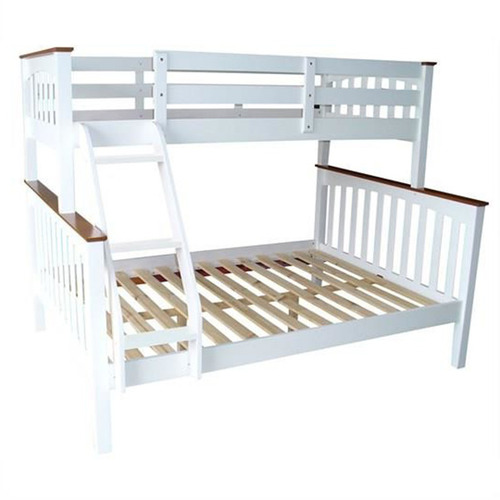 Myroom Sarah Timber Single Over Double Bunk Bed Temple Webster