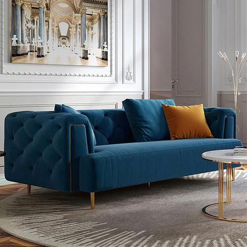 Mia 3 Seater Velvet Sofa