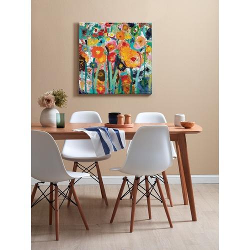 Palette Poppies by Anna Blatman Art Print on Canvas