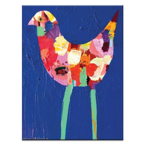 Anna Blatman Long Leg Bird by Anna Blatman Wall Art