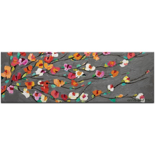 Anna Blatman Silver Magnolia by Anna Blatman Wall Art