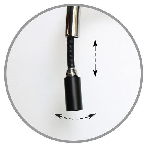 Vinco Leadfree Tapware Carrara Kitchen Mixer with Pull Out Nozzle