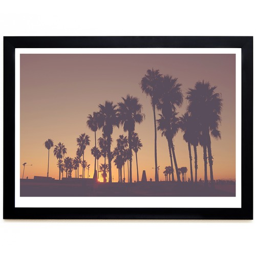 Elle Green Photo Venice Beach Printed Wall Art