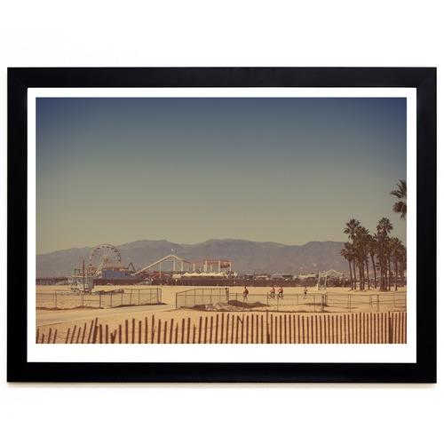 Elle Green Photo Santa Monica Printed Wall Art