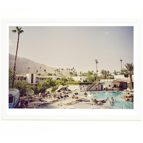 Elle Green Photo Palm Springs Wet & Dry Printed Wall Art
