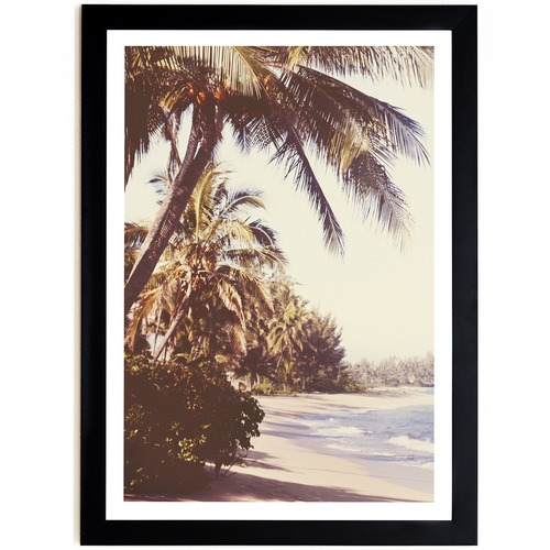 Elle Green Photo Waialua Palms Printed Wall Art