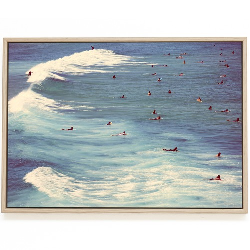 Elle Green Photo Bondi Surf Printed Wall Art