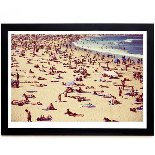 Elle Green Photo Bondi Sunbathers Printed Wall Art