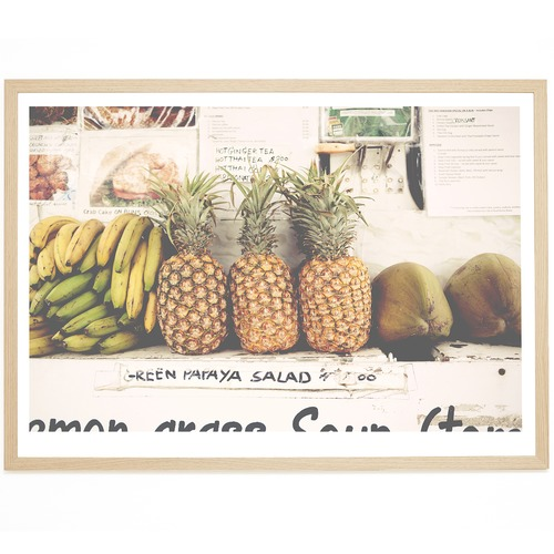 Elle Green Photo Kauai Fruit Printed Wall Art