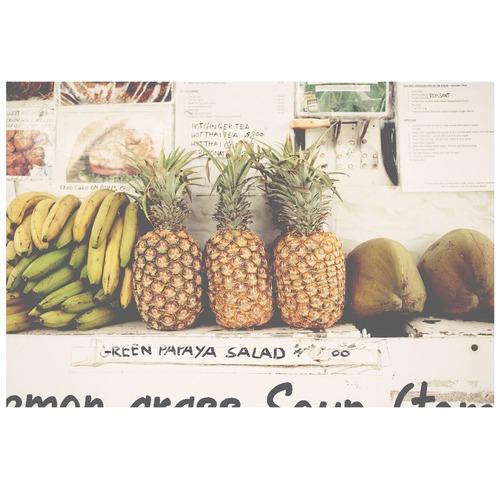 Elle Green Photo Kauai Fruit Printed Wall Art