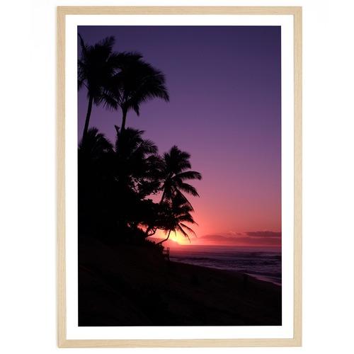 Elle Green Photo Hawaiian Sunset Printed Wall Art