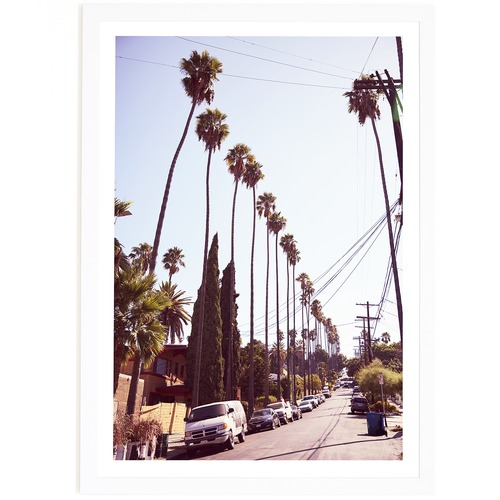 Elle Green Photo Sunset Junction Printed Wall Art