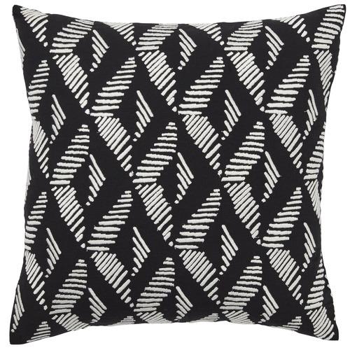 Black Lagos Cotton Cushion