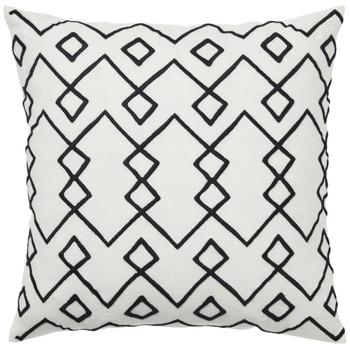 Weave Black Malawi Cotton Cushion