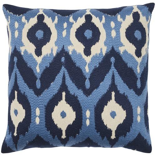 Blue Nishiki Cotton Cushion