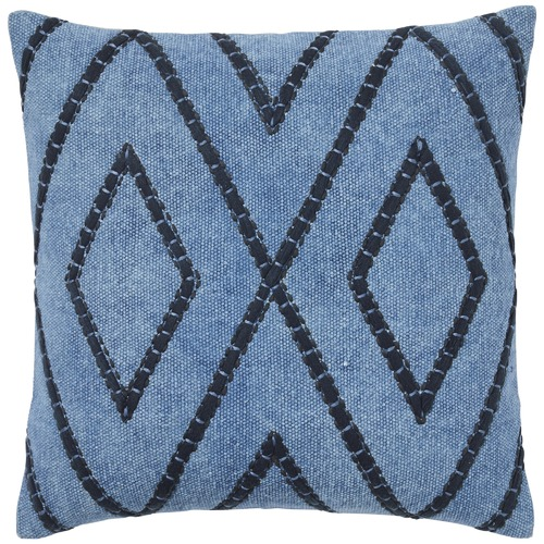 Weave Blue Shiso Cotton Cushion