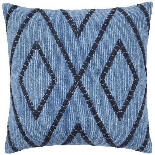 Blue Shiso Cotton Cushion