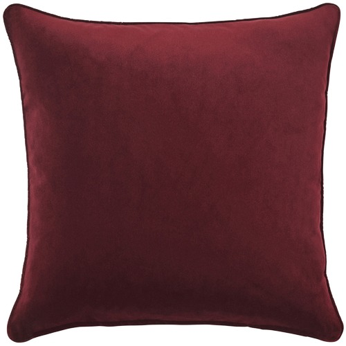 Weave Plain Bold Zoe Velvet Cushion