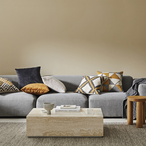 Weave Dijon Meyer Cotton Cushion