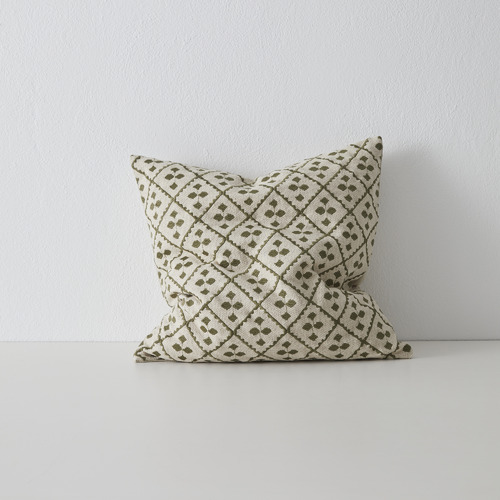 Byblos Embroidered Cotton Cushion