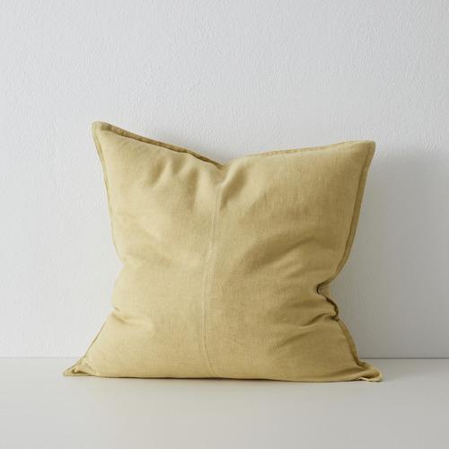 Como Stonewash European Linen Cushion