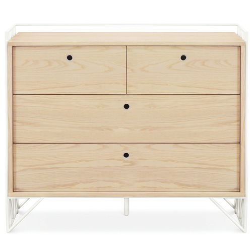 Ubabub Light Timber Mod Dresser with Drawers