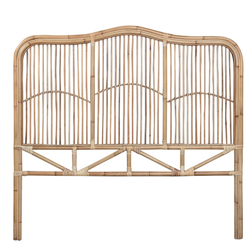 Palm Cove Living Natural Marley Rattan Bedhead