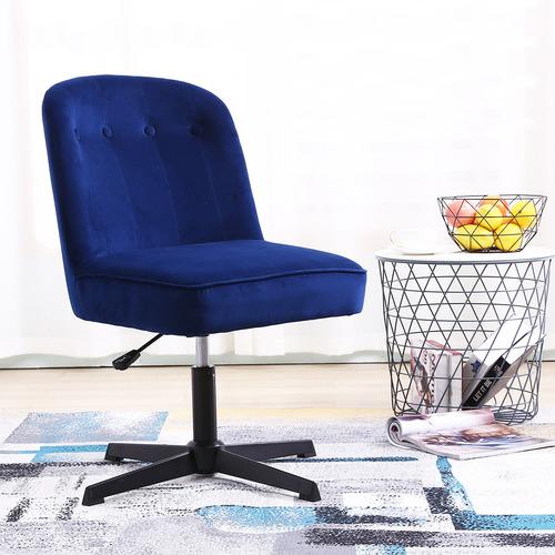 York street Moira Velvet Office Chair